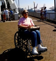 mom in wheelchair